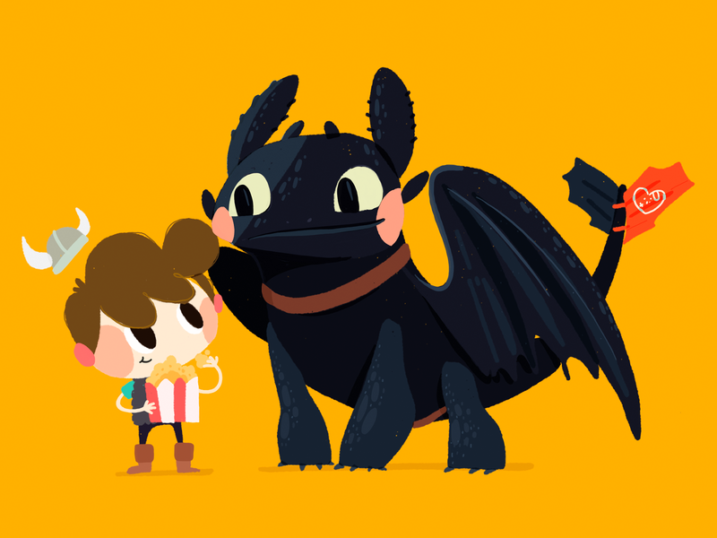 Toothless sketch illustration how to train your dragon fanart drawing draw doodle design cute color character cartoon