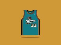 #33 Grant Hill 1994 — 2000