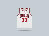 #33 Scottie Pippen 1987 — 1998