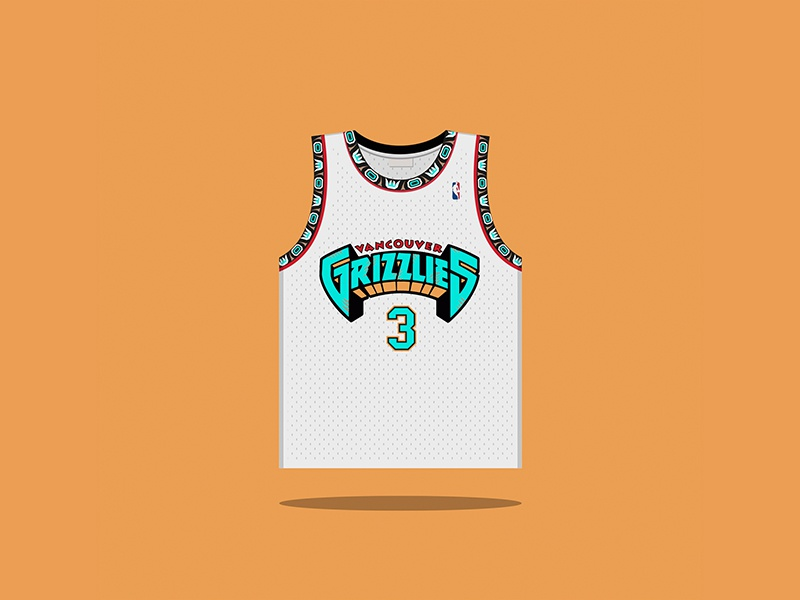3 Shareef Abdur-Rahim 1996 — 2001 nba classic hardwood grizzlies vancouver  basketball 7692c716a