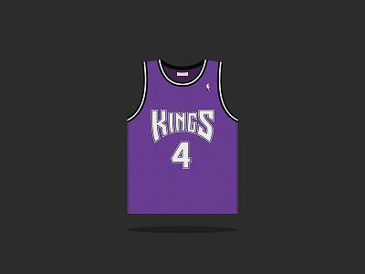 #4 Chris Webber 1998 — 2005 webber nba sacramento kings basketball