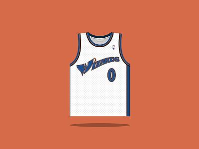 #0 Gilbert Arenas 2003 — 2010 nba washington wizards basketball