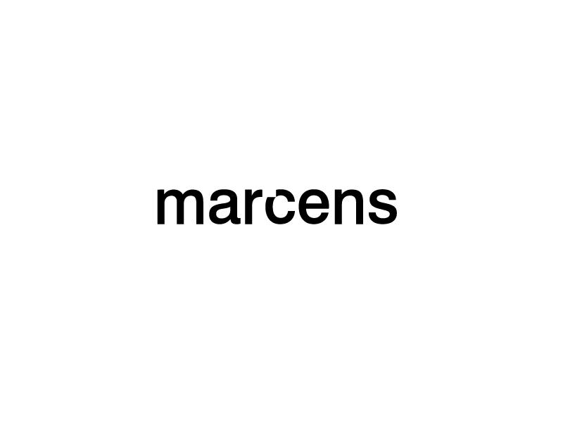 Marcens design branding riyadh saudi bold black sense marca agency creative marcens
