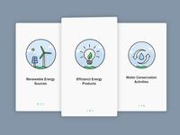 Onboarding UI - Eco Based App