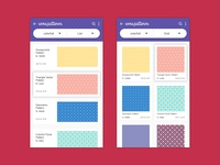 Daily UI Challenge 07 - Gallery Style