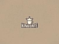 Daily UI Challenge 11 - Kingcafe Logo