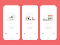 Daily UI Challenge 15 - Onboarding Ui Screens