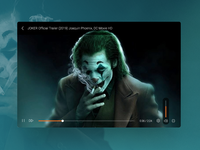 Daily UI Challenge 22 - Video player challenge daily ui player video video player web design dailyui ui