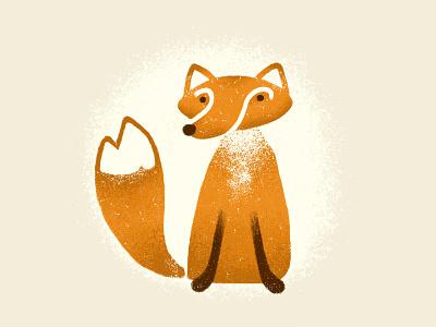 Foxy Fox nature creature wildlife character drawing animal digital art illustration fox