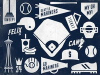 Seattle Mariners Icons