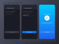Ryds app - Reset password flow
