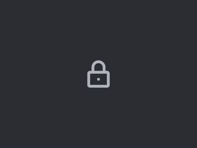 Open lock animation