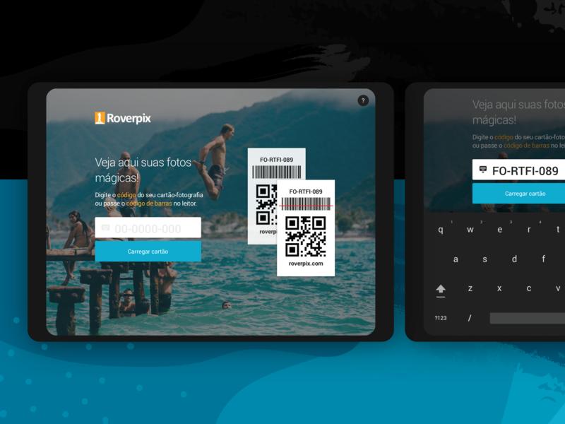Roverpix App roverpix qrcode photo photography gallery ux research ux design uidesign interface visual design app design app mobile