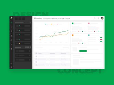 Design concept - Dashboard