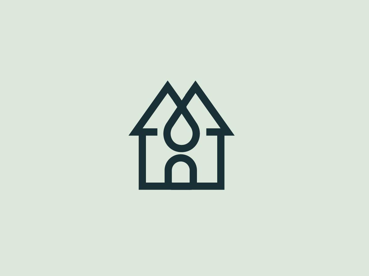 House Logo 1/3 minimal flat uruguay logodesign greatlogo illustration icon creative pixel graphic design branding brand logo casa