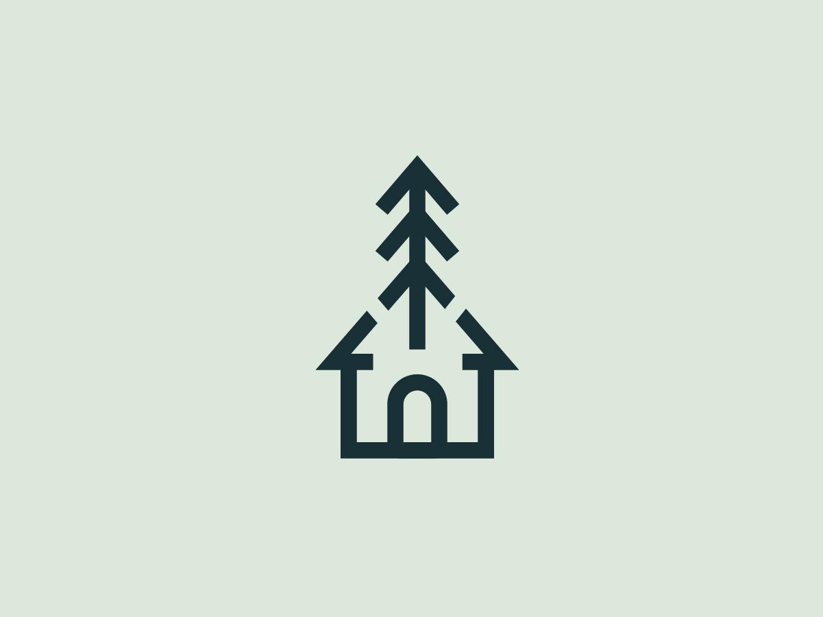 Casa Logo 3/3 vector minimal uruguay graphic logodesign branding brand logo casa