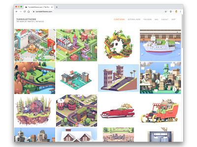 Back To Freelance! layoffs laid off remote freelance website illustrator 3d illustration 3d art 3d render portfolio turnislefthome render c4d 3d