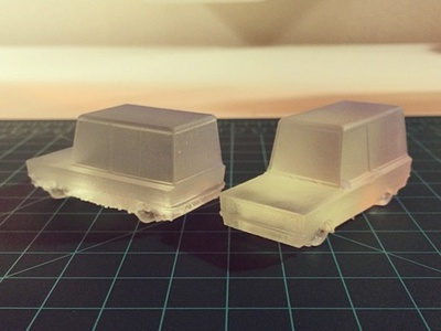 3D Printed Vehicles 3d printer form1 form 1 formlabs 3d render model 3d print resin stereolithography toy suv
