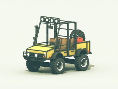 Dune Buggy boggers tires dune buggy 3d render c4d truck roll cage woods 4x4 cinema 4d vehicle