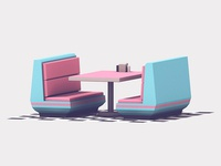 Retro Diner Table