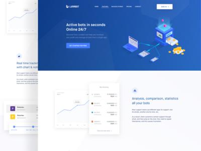 Landing Page - Lunabot