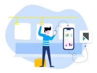 Illustrations for Vookmark [ 1 ] - Video Bookmarking Service