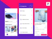 Ecommerce App - UI Exploration