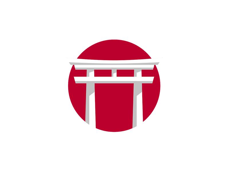 Japan Logo by Ryan Rittenhouse on Dribbble