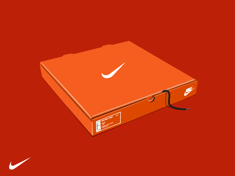 Nike Pizza Just Eat It By Satesh Mistry On Dribbble
