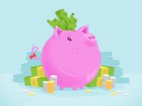 Piggy Bank Surprise