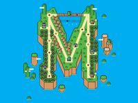 Super Mario World™ of Typography