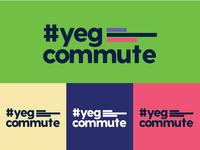 #yegcommute Logo