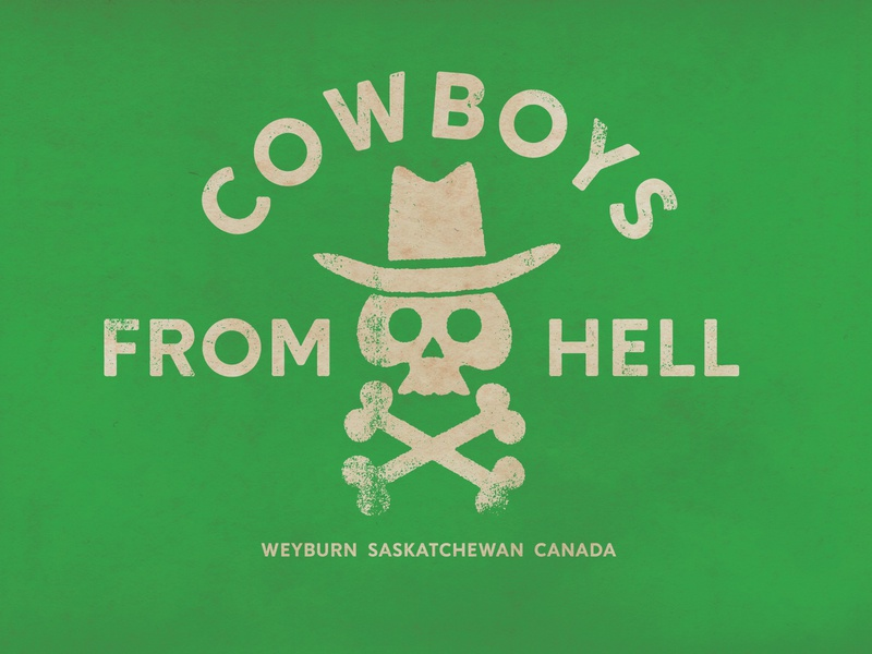 Cowboys From Hell by Nigel Hood on Dribbble