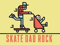 Skate Dad Rock