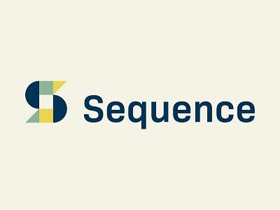 Sequence public affairs identity vector edmonton yellow blue icon logotype brand identity branding brand logo pattern sequence