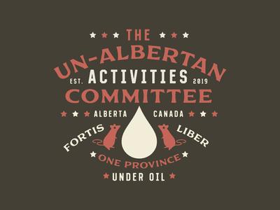 The Un-Albertan Activities Committee