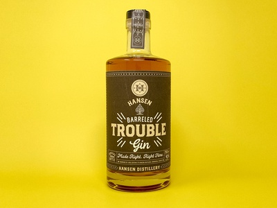 Hansen Barrelled Trouble Gin