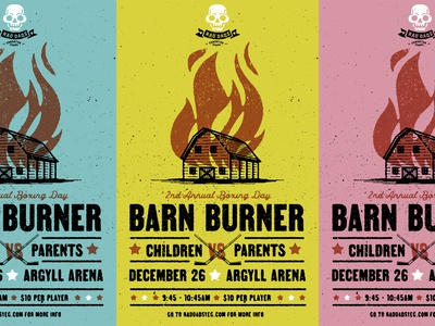 Rad Dads Barn Burner Poster