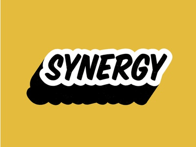 Buzzword: Synergy