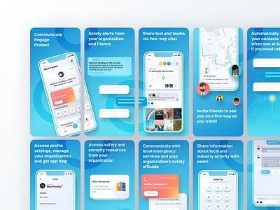 App Store Screenshots ux ui sketch application mobile ios screenshots appstore store app