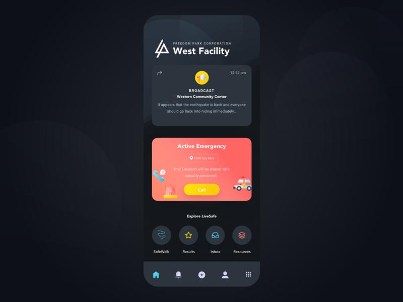 Dark Theme cards night mode dark theme community vector safety security mobile design app sketch ux ui