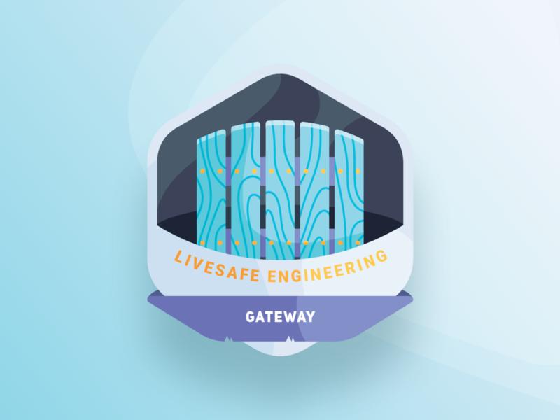 Gateway Icon gateway developer engineering icon illustration vector branding design app sketch ux ui