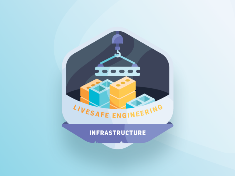 Infrastructure bricks infrastructure icon community vector safety security branding design app sketch ux ui