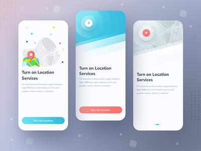 Mobile Onboarding Location Services onboarding services location web interaction illustration community vector mobile design app ux ui sketch
