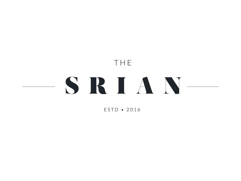 The Srian :: logo comp logo design logo comp logo draft serif identity mark branding concept logo
