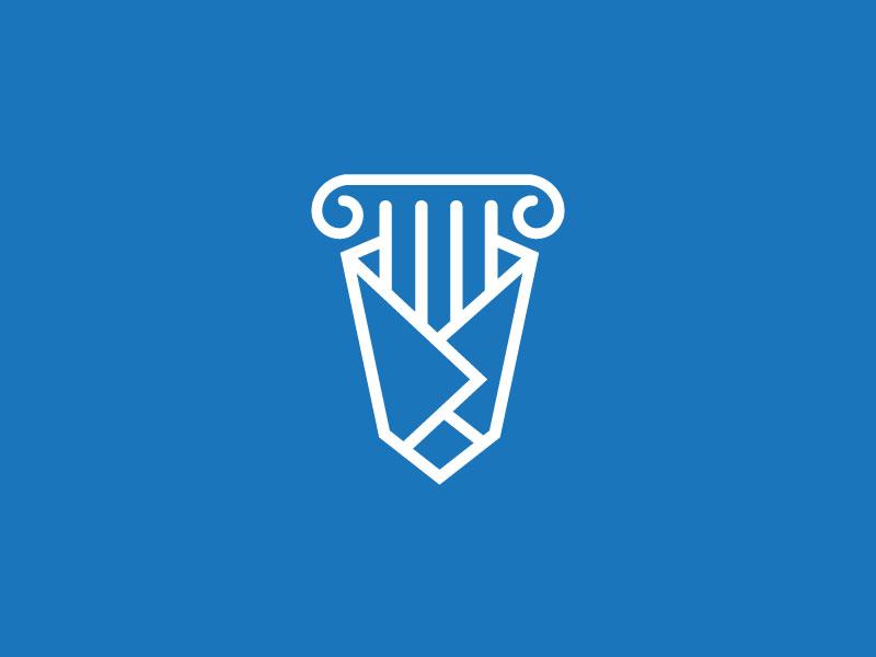 Greek Souvlaki branding design logo