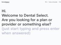 Dental Select Website Redesign