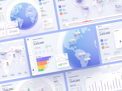 Figma UI kit / Map data visualisation hexagon hex maps location planet desktop template bar widgets widget desktop dailyui chart infographic datavisualization data dashboard template world dataviz map