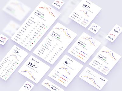 Line chart template chart ui data desktop analytics chart data vusialisation product dataviz template dashboard