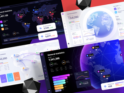 Orion UI kit - Charts templates & infographics in Figma space infographic desktop web product infographics machine learning statistic charts widget planet earth figma template ux ui dashboad chart map world map planet
